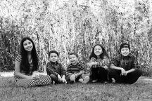 Our 5 beautiful kids
